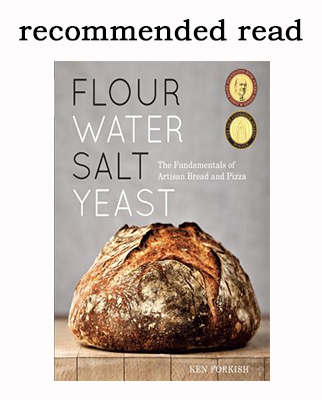 Recommended Read: Flour Water Salt Yeast by Ken Forkish